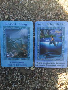 Good morning beautiful friends,  How are you feeling today?  Today's card is Blessed Change and You're Being Helped is the supportive card which fell out of the deck! :)  These cards are very positive! It feels like we are all going through some major changes! Change can be uncomfortable and sad at times especially when we get to let go relationships, career, or anything that means something for us! One thing is that with big changes, great blessings follow. The reason, we are letting go, so…