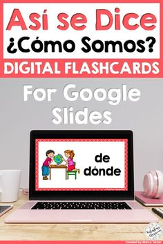 Flashcards are a perfect way to help kids learn Spanish! These digital and paperless flash cards are perfect for distance learning, paperless classrooms, or for learning on the go! Use on your iPad, Chromebook, laptop, computer, phone, or interactive whiteboard. This set helps kids learn or practice Spanish Help, Learning Spanish For Kids, Learn Spanish Online, Spanish Teaching Resources, Fun Learning, Homeschooling Resources, Spanish Activities, Learning Italian, Teacher Resources
