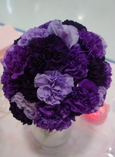 Moon Carnations' MEWS-Designs Wedding Florist Raleigh, NC