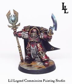 Warhammer 30k Horus Heresy | Thousand Sons | Praetor #warhammer #30k #30000 #wh30k #horus #heresy #preheresy #space #marines #gw #gamesworkshop #forgeworld #wellofeternity #miniatures #wargaming #hobby