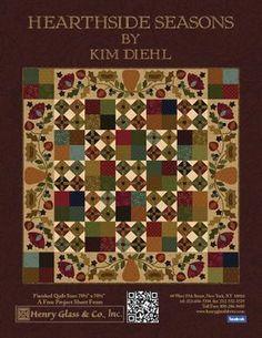 Hearthside Seasons by Kim Diehl . . . free pattern download.