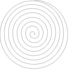 Spiral Pattern Use The Printable Outline For Crafts Creating