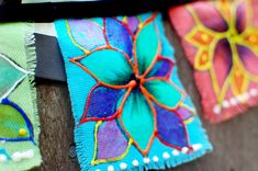 iLoveToCreate Blog: How to make Bohemian Flags