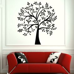 big tree thing from primitive for entry way wall over the basement stairs Window Bars, Basement Stairs, Big Tree, Wall Sticker, Stencils, Stickers, Bedroom, Art Ideas, Decor Ideas
