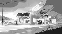 Steven Crewniverse Behind-The-Scenes Universe: Kevin Dart says: Laser Light Design & Lighting. Environment Painting, Environment Concept Art, Environment Design, Kevin Dart, Game Design, Layout Design, Design Color, Lighting Design, Lighting Ideas