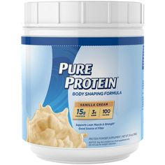 Pure Protein® Body Shaping Formula is a superior protein source formulated to help you achieve a lean, strong body by providing 15 grams of protein, and all the essential amino acids needed to support energy metabolism.