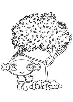 Waybuloo Fargelegging for barn. Tegninger for utskrift og fargelegging nº 13
