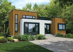 Contemporary Starter House Plan - 80824PM | Contemporary, Modern, Canadian, Metric, Narrow Lot, 1st Floor Master Suite, Butler Walk-in Pantry, CAD Available, PDF | Architectural Designs