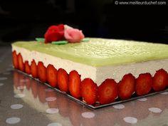 Fraisier classique facile à réaliser - Recette de cuisine avec photos - MeilleurduChef.com