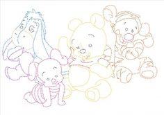 baby winnie the pooh en vriendjes