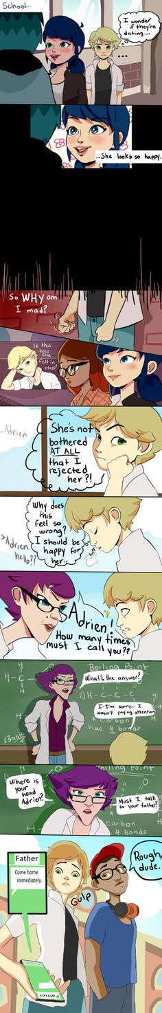 Sad Adrien ((Kind of a necessary filler before shit actually goes down in the next part)) Part 3 out next Thursday!! (late due to finals week prep**)