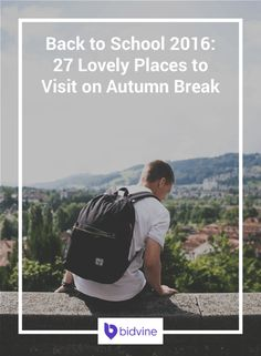 If you're already looking forward to autumn break, consider planning a quick holiday. We've put together 27 lovely places to visit on autumn break.