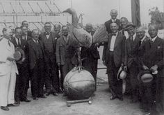 Spurs' famous 9ft Cockerel during the rebuilding of the stand - 1930's