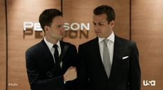 "Do you watch ""Suits""? If so, then pay close attention to what Harvey and Mike wear every day to work - great examples of business professional for men! Suits Tv Series, Suits Tv Shows, Professional Attire, Business Professional, Tv Shows 2013, Suits Episodes, Suits Quotes, Gabriel Macht, Suits Season"