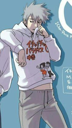 kakashi wearing his makeout merch Kakashi Hatake, Naruto Shippuden, Hinata, Naruto Boys, Naruto Art, Anime Naruto, Anime Manga, Boruto, Team Minato