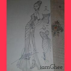 2nd design #iamgheesketchandstyle