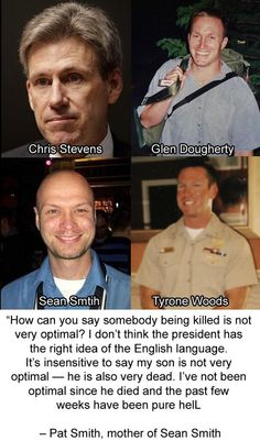 Benghazi - please honor our brave American dead.