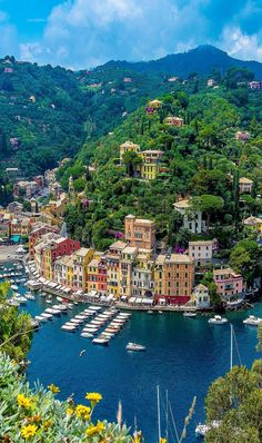 In Portofino, Italy. Vacation Places, Vacation Destinations, Dream Vacations, Vacation Spots, Places To Travel, Places Around The World, The Places Youll Go, Places To See, Around The Worlds