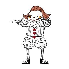 I donno, but is cute (a bit) What is this? I donno, but is cute (a bit) Penny Wise Clown, Horror Movies Funny, Scary Movies, Comedy Movies, It The Clown Movie, Le Clown, Pennywise The Dancing Clown, Cute Gay, Horror Art