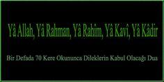 Bir Defada 70 Kere Okununca Dileklerin Kabul Olacağı Dua Allah, Prayers, Food And Drink, Reading, Prayer, Reading Books, Beans
