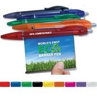 100% Biodegradable corn plastic pens!