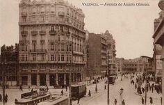 POSTALES DE VALENCIA: AVENIDA DE AMALIO GIMENO