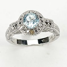 Beautiful be better if it were sapphire though Sapphire, Bling, Good Things, Jewels, Engagement Rings, Future, Pretty, Silver, Wedding