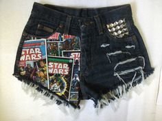 These are cute - star wars diy shorts