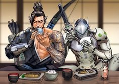 Let's just pretend Genji still needs to eat