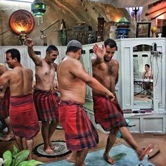 رقص دلاک ها
