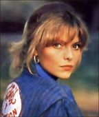 stephanie zinone aka michelle pfeiffer Grease 2, Michelle Pfeiffer, Disney Characters, Fictional Characters, Cosplay, Costumes, Disney Princess, Dress Up Clothes, Fancy Dress