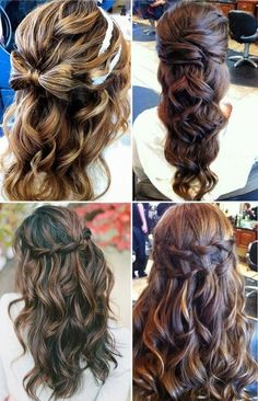 Wedding Hair hairstyle (Find us on: www.facebook.com/GreatLengthsPoland)