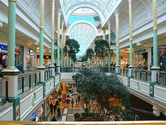 Shopping at TRAFFORD CENTRE, Manchester, UK