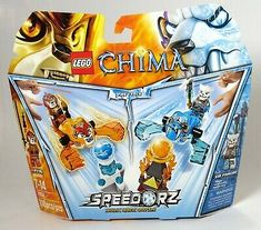 NEW IN SEALED PACKAGE LEGO CHIMA FIRE /& ICE MINIFIGURE SET - RETIRED 850913