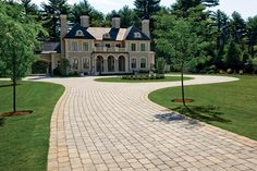 Circular Driveway Landscaping Picture : Kimberly Porch and Garden Best Ideas C … - front yard ideas modern Circle Driveway Landscaping, Driveway Paving, Driveway Design, Driveway Entrance, Circular Driveway, Yard Landscaping, Driveway Ideas, Landscaping Ideas, Landscaping Software
