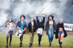 WHO RUNS THE WORLD? GIRLS!