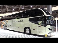 2019 Neoplan Cityliner L Luxury Coach - Exterior and Interior Walkaround - 2018 IAA Hannover Tour Bus Interior, Truck Interior, Volvo, School Bus Rv, Transportation Technology, Wedding Transportation, Rv Vehicle, Luxury Bus, Luxury Motors