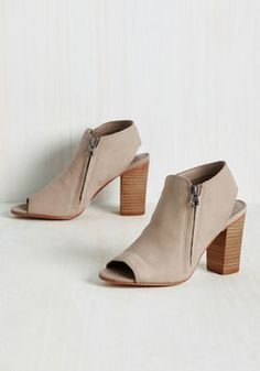Strive-in-One Heel. If hybrid footwear is your key to personal-style success, then these taupe heels will be the greatest accomplishment of your collection! #tan #modcloth