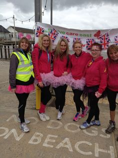 Banana Girls - 32 Mile walk for Palliative Care East Appeal and Carlas Angels Charity