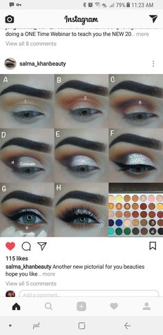 revolution eyeshadow palette uk makeup tutorial makeup eyeshadow makeup kit makeup everyday makeup smokey eyes makeup set makeup for hooded eyes Makeup 101, Makeup Goals, Skin Makeup, Makeup Inspo, Eyeshadow Makeup, Beauty Makeup, Makeup Ideas, Blue Eyeshadow, Makeup Hacks