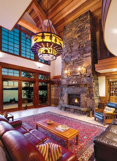 Breathtaking Traditional Craftsmanship: Alive and Well in Lakeside Log Home