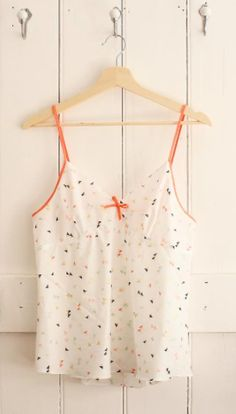 Evie's Fifi top - sewing pattern by Tilly and the Buttons Pyjamas, Pjs, Tilly And The Buttons, Pj Sets, Evie, Sewing Patterns, Cool Outfits, Camisole Top, Tank Tops
