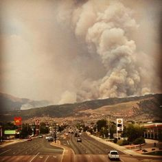 images of waldofire | Waldo Fire in Colorado Springs, CO / Words can not be spoken it hurts ...