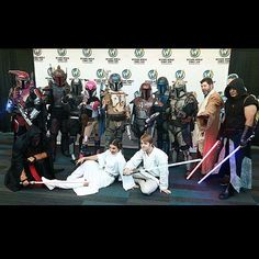 Impromptu @WizardWorld gathering of all things great in @StarWars