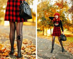 Outfit: Mad for Plaid