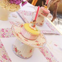 tea party birthday party petit fours