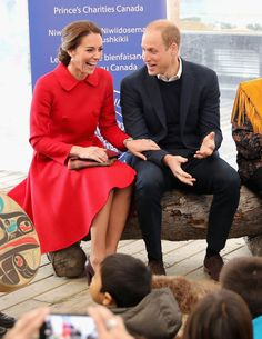 Prince William and Kate Middleton Laughing on Tour 2016 | POPSUGAR Celebrity