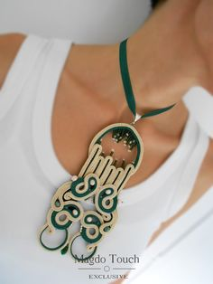 Check out this item in my Etsy shop https://www.etsy.com/listing/497653442/ooak-soutache-pendant-oversized-pendant