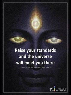 """""""Raise your standards and the universe will meet you there. Spiritual Awakening, Spiritual Quotes, Wisdom Quotes, Me Quotes, Mystic Quotes, Spiritual Manifestation, Awakening Quotes, Strong Quotes, Attitude Quotes"""