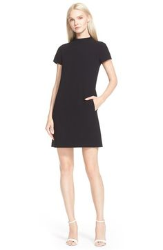 Theory 'Jasneah' Crepe Shift Dress available at #Nordstrom